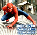 jaydens spiderman - spider-man fan art