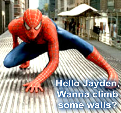 jaydens spiderman