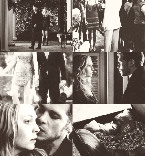 klaroline things → loneliness; dance; champagne; sexual tension; saving each other; gifts