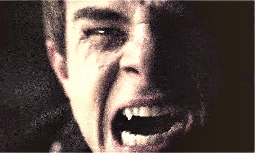 kol mikaelson > vampire face.