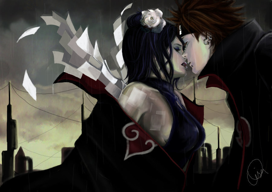 konan and pain