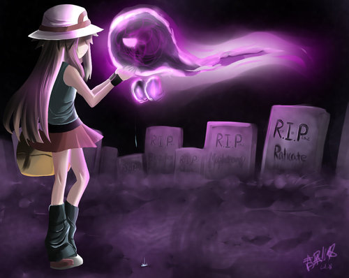 Pokemon creepypasta images leaf and GHOST wallpaper and ...