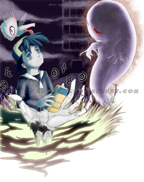 Pokemon creepypasta images lost silver and GHOST wallpaper ...