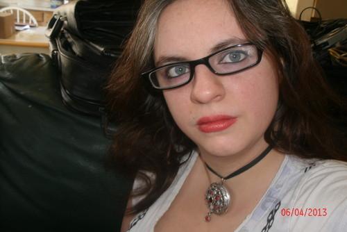 me in my glasses