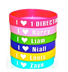 one direction wristbands