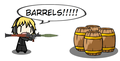 pewds vs barrels