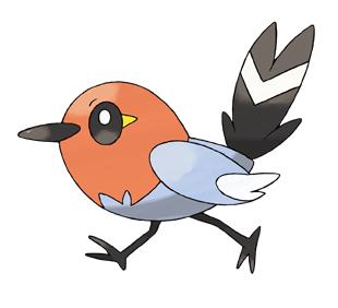 pokemon xy: Fletchling