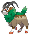 pokemon xy:  Gogoat - pokemon photo