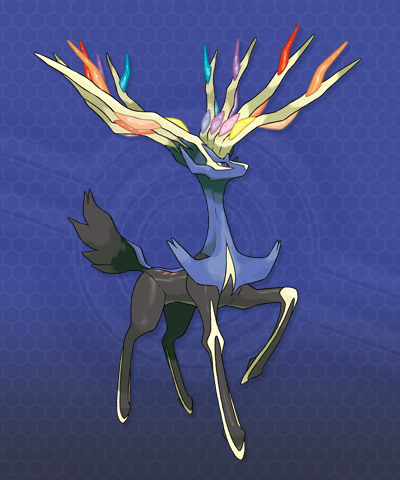 Pokémon wallpaper possibly with a bouquet and a hippeastrum called pokemon xy: Xerneas