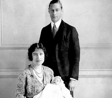 কুইন elizabeth ii and parents
