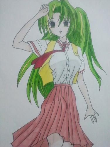 random manga drawings~