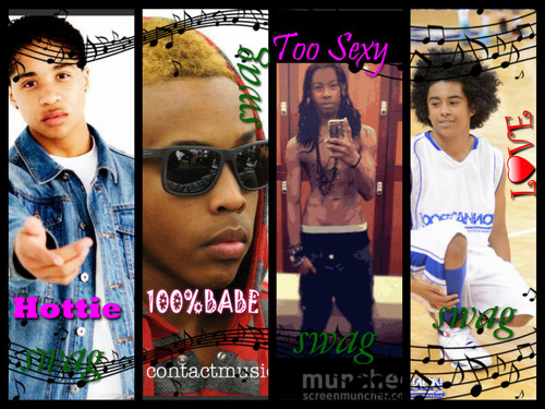 Mindless Behavior wallpaper probably with a sign titled roc royal,prodigy,rayray,princeton