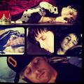 sleeping billie