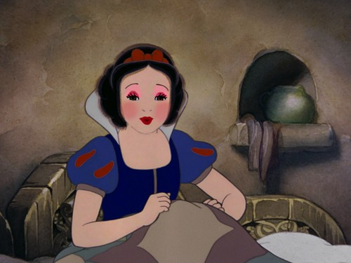snow white's giving look