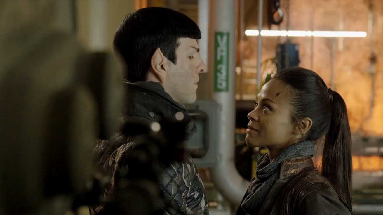 star trek into darkness stills&screencaps - Spock & Uhura ...