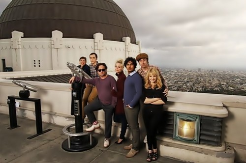 The Big Bang Theory wallpaper probably with a planetarium titled tbbt