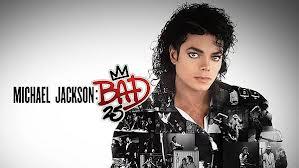 """25tb"" Anniversary Edition Of ""BAD"" Logo"