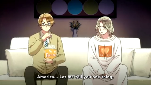 ~America and France~