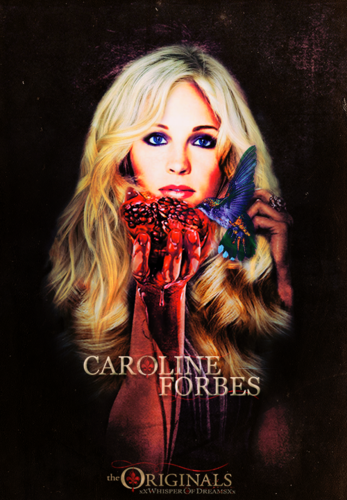 "Caroline Forbes 壁紙 called ↳""Anyone capable of 愛 is capable of being saved."""