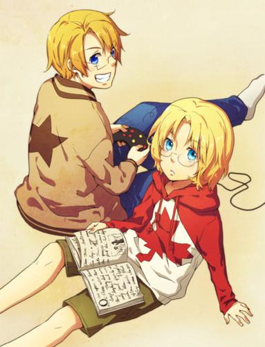 ~Canada and America~