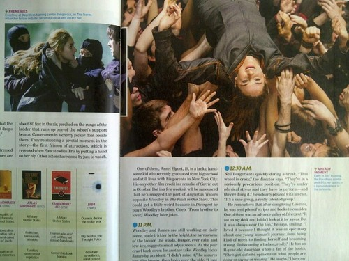 """Divergent"": Entertainment Weekly Scans"