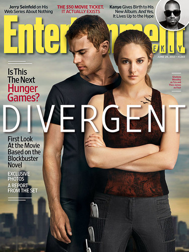 """Divergent"": Entertainment Weekly Magazine Cover [+ New Promotional Photo!]"