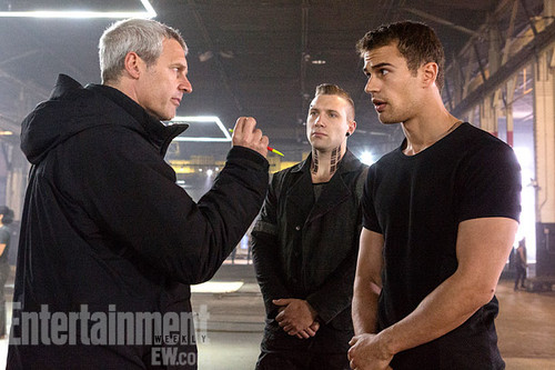 'Divergent' behind the scenes