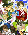 ~Hetalia In Wonderland~  - hetalia fan art