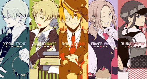 Hetalia wallpaper probably with anime titled ~Hetalia~