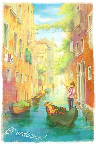 ~Italy and Romano~