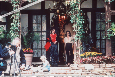 1995 Children's Summitt Meeting At Neverland Back In 1995