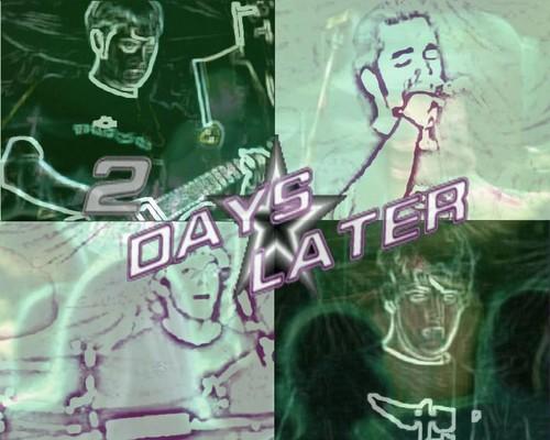 2 Days Later karakana Band picha Manipulation Green