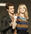 ANDREW GARFIELD and  EMMA STONE - emma-stone photo