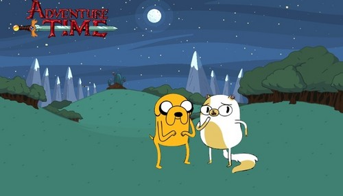 Adventure Time Jake and Cake