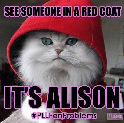 Alison Is A Red कोट