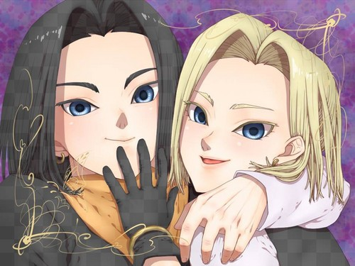 Android 18 and his brother