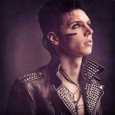 Photoshop wallpaper probably with a portrait titled AndyBVB