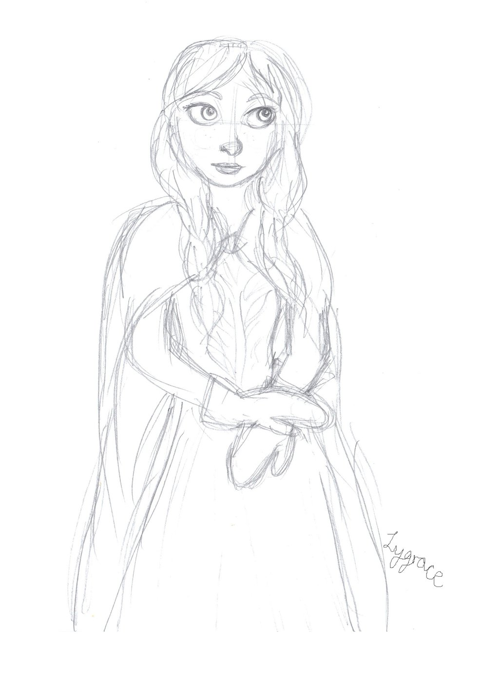 Anna From Frozen Drawings
