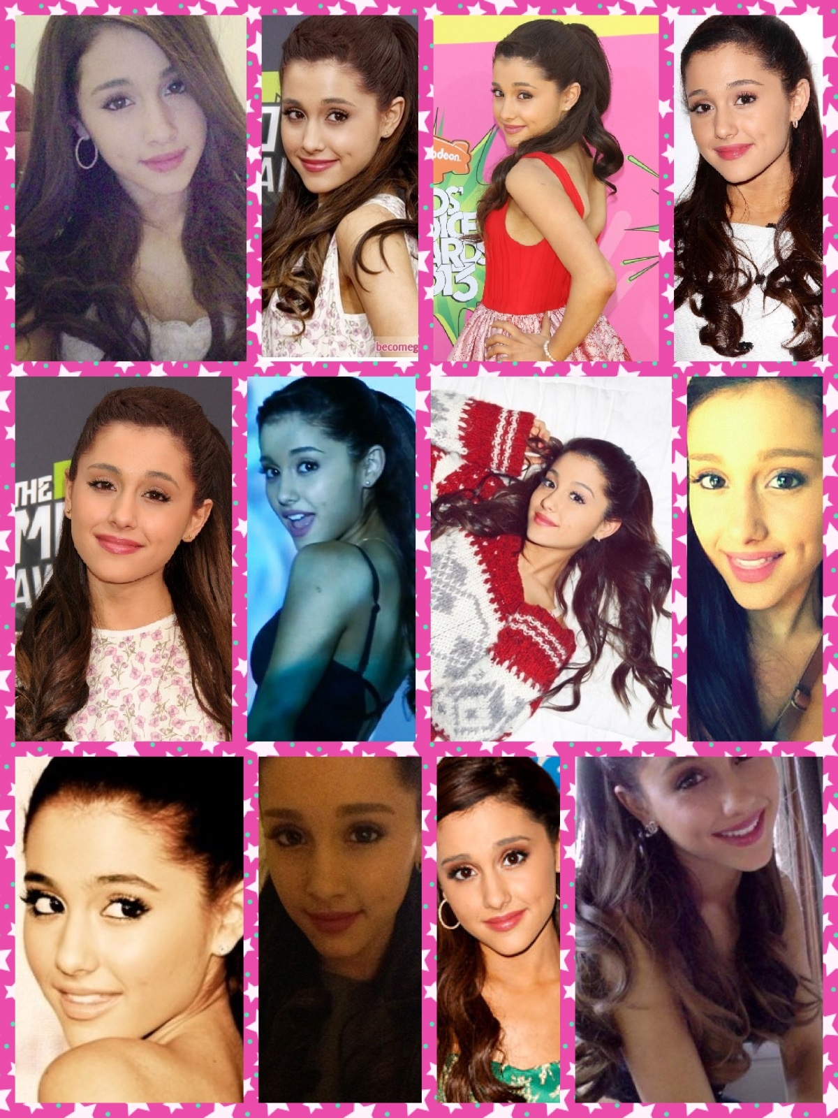 Ariana Grande Tumblr Collage 2014 Ariana G. Colla...