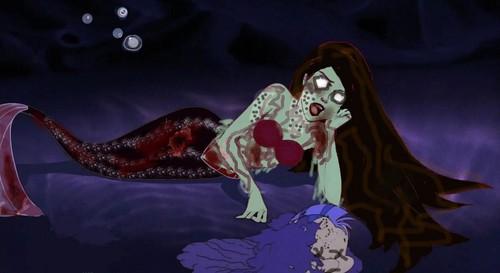 Ariel the zombie