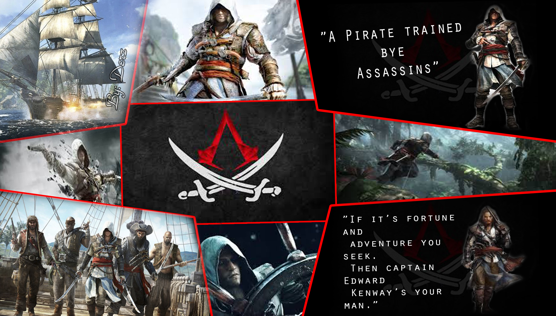 Assassin S Creed Iv Blackflag Fan Art Assassin S Creed Fan Art
