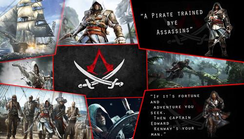Assassin's Creed IV Blackflag Fan Art