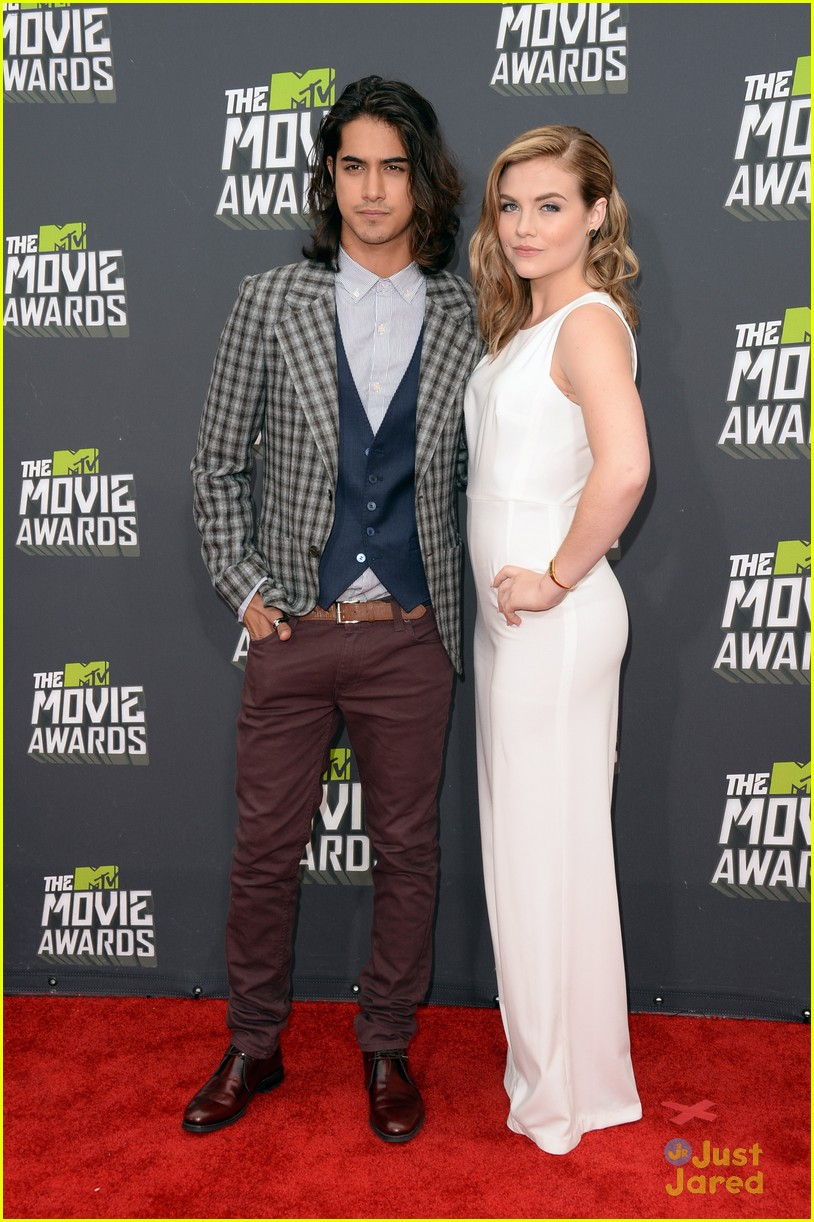 Avan Jogia & Maddie Hasson at MTV Movie Awards 2013 - Avan ...