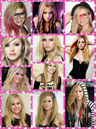 Avril L. Collage
