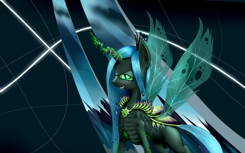 MLP FIM Queen Chrysalis fond d'écran probably containing a bouquet entitled Awesome Chrysalis pics