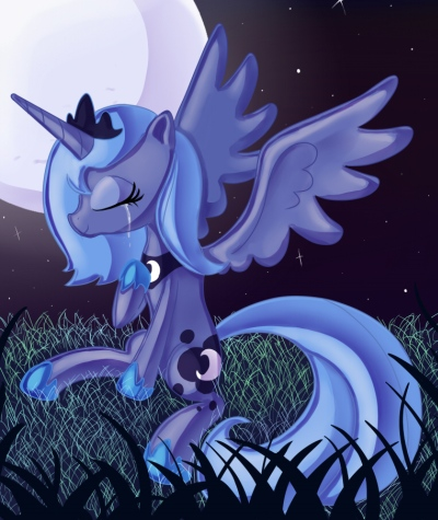 Princess Luna fond d'écran with a triceratops called Awesome Luna pics