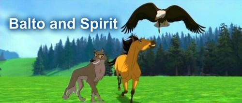 Balto and Spirit