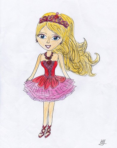 barbie Kristyn Farraday fan Art