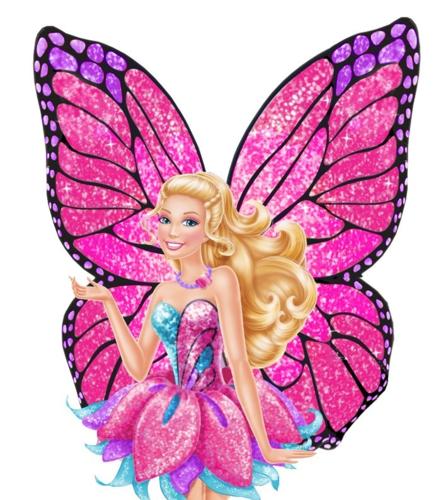 barbie Mariposa recolour fã art