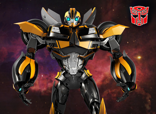 transformers Prime fondo de pantalla called Beast hunters Bumblebee